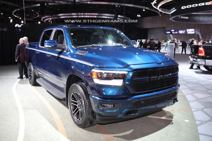 2019 Ram Sport with Mopar accessories - 5th Gen Rams