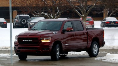 Photo of Here are the first photos of an uncovered 2019 Ram in the wild