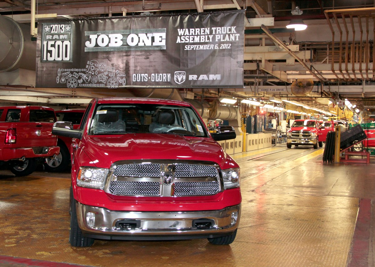Where is the 2019 Ram regular cab? (Editorial)