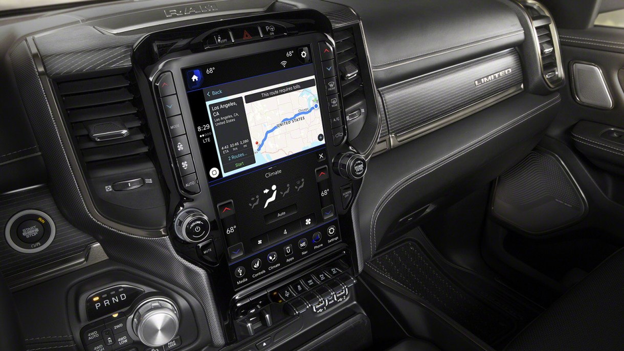 2019 Ram 1500 Interior (with video) - 5th Gen Rams