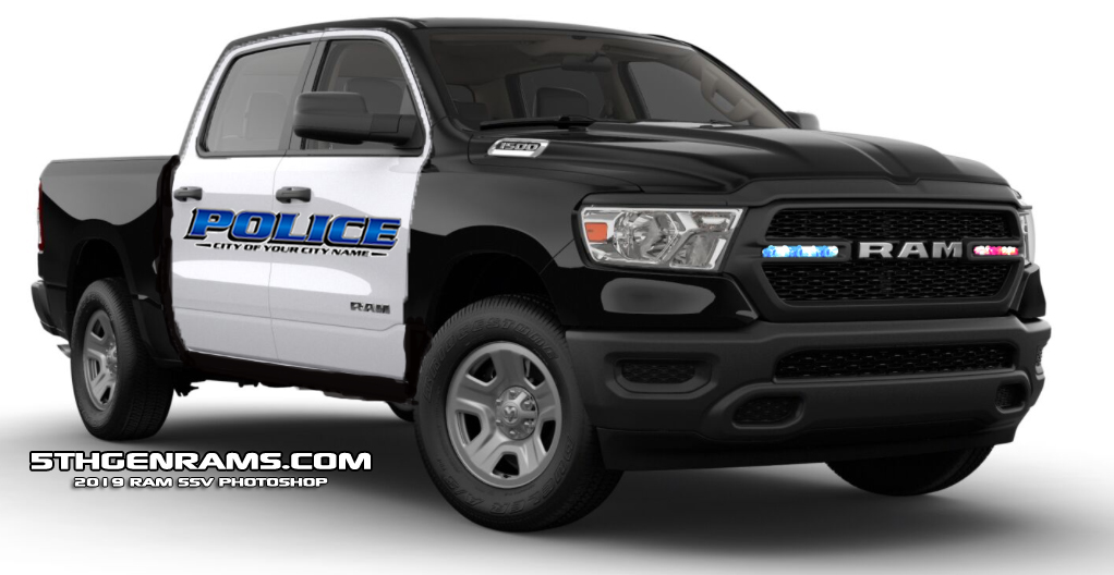 Is Ram Working On A New Ram 1500 For Law Enforcement ...