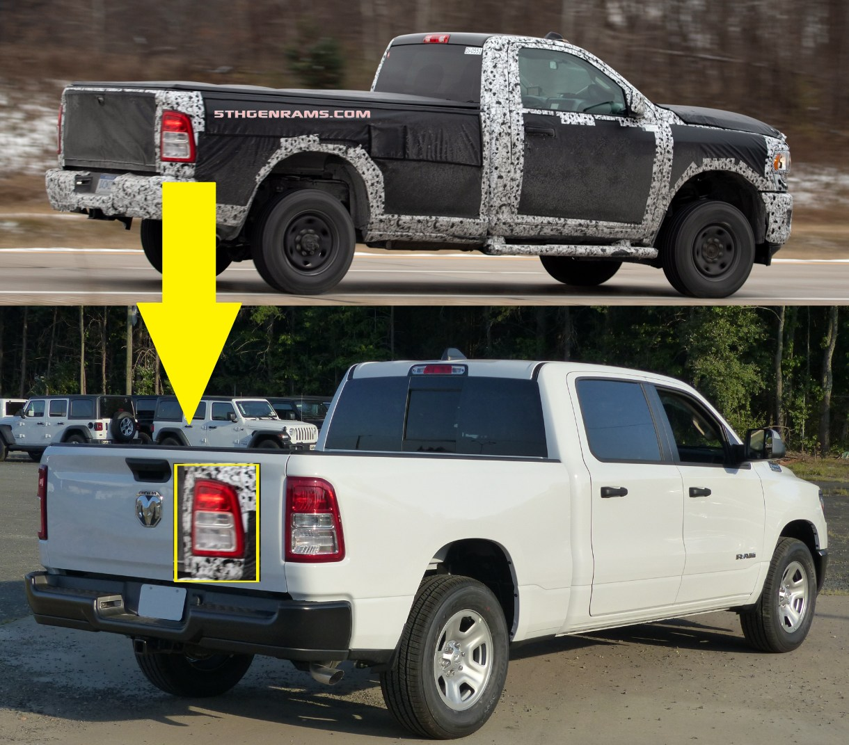 2019 Ram 2500: CAUGHT: Another 2019 Ram 2500 Tradesman Gives Us More