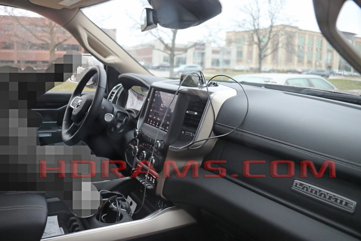 What Is Different About The Upcoming Ram Heavy Duty Interior?