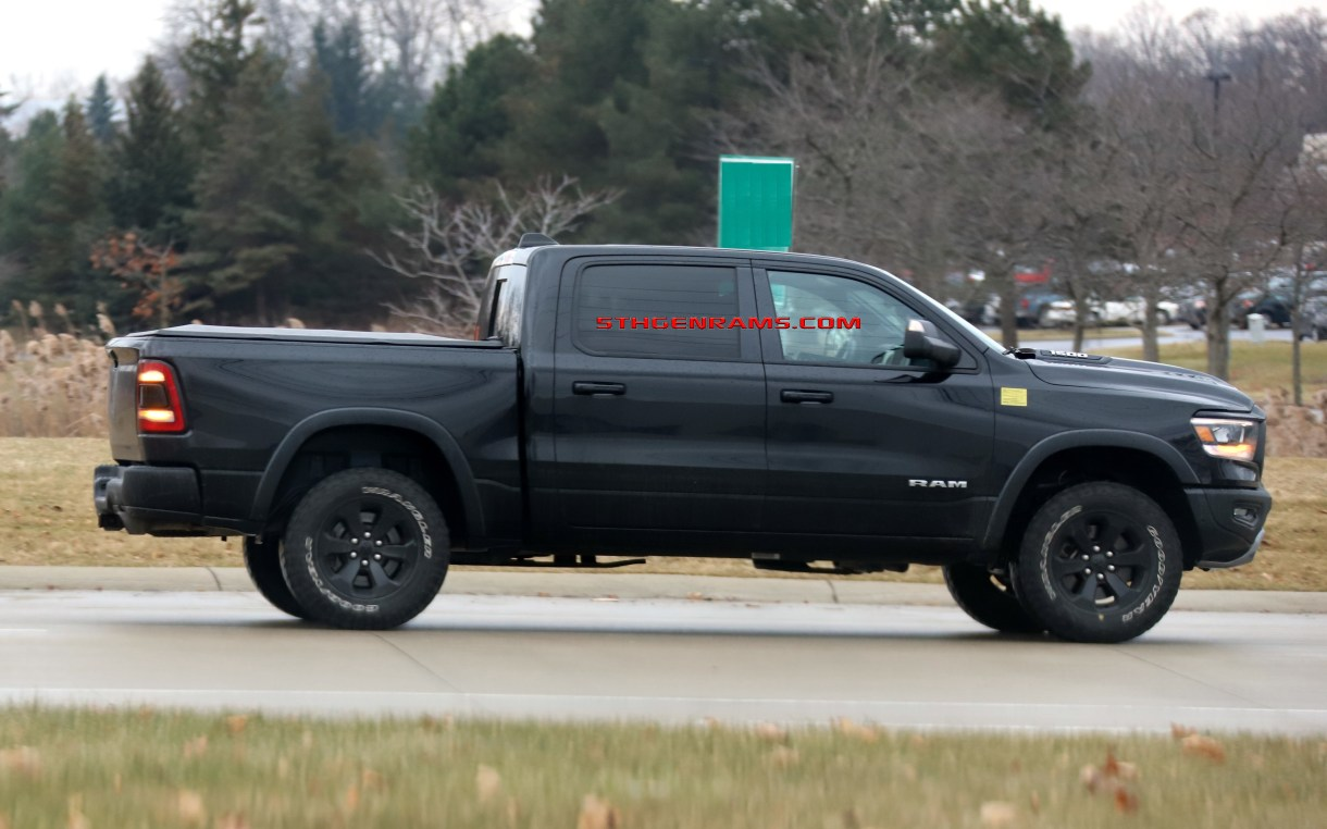 CAUGHT: ECODIESEL 2019 Ram 1500 Rebel On The Streets: - Mopar Insiders