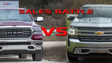 Photo of The Battle For #2 In Full Size Truck Sales