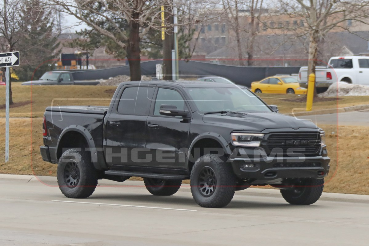 VIDEO: NEW Photos And Video Of the 2021 Rebel TRX Prototype