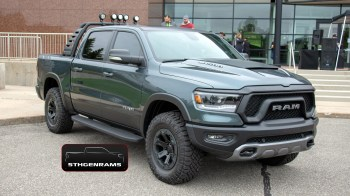 2019 Ram 1500 Mopar-Modified Rebel Concept. (5thGenRams).