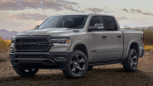 "2020 Ram 1500 Big Horn ""Built to Serve"" Edition. (Ram)."