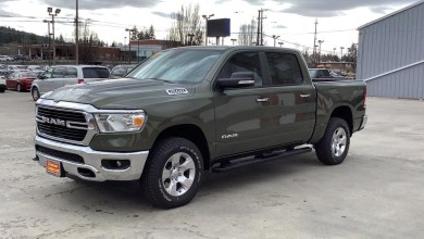 Photo of Olive Green-Colored 2020 Ram 1500 Models Are Now In Dealers: