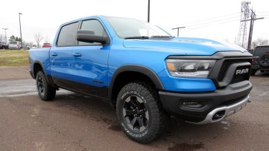 Photo of Hydro Blue 2020 Ram 1500 Trucks Are Arriving In Dealer Inventories: