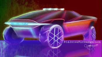 Futuristic Ram Truck Design. (Robin Mathew).
