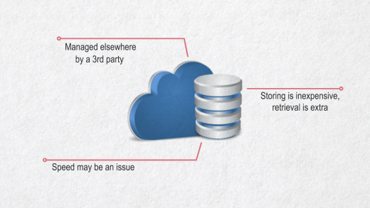 Cloud storage considerations