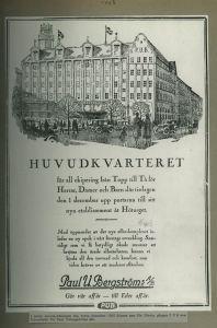 PUB-huset år 1925