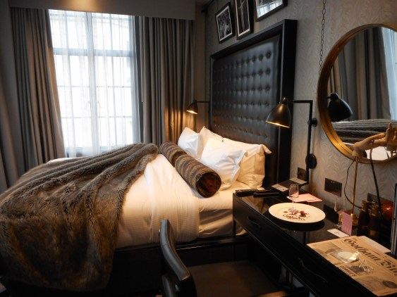 A Club Room at Hotel Gotham