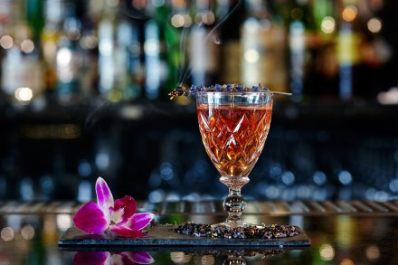 Galvin at Windows has created the Lilibet cocktail to celebrate the Queens 90th birthday