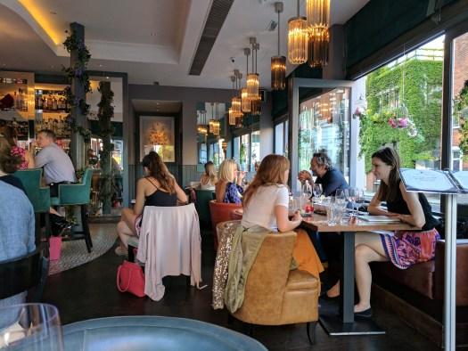 Beaufort House brasserie, members club and cocktail bar ,  Kings Road, Chelsea