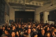 Crowd inside