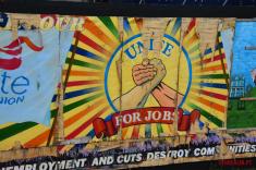 Unite mural Belfast