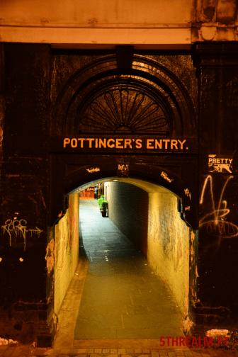 Pottinger's Entry Belfast