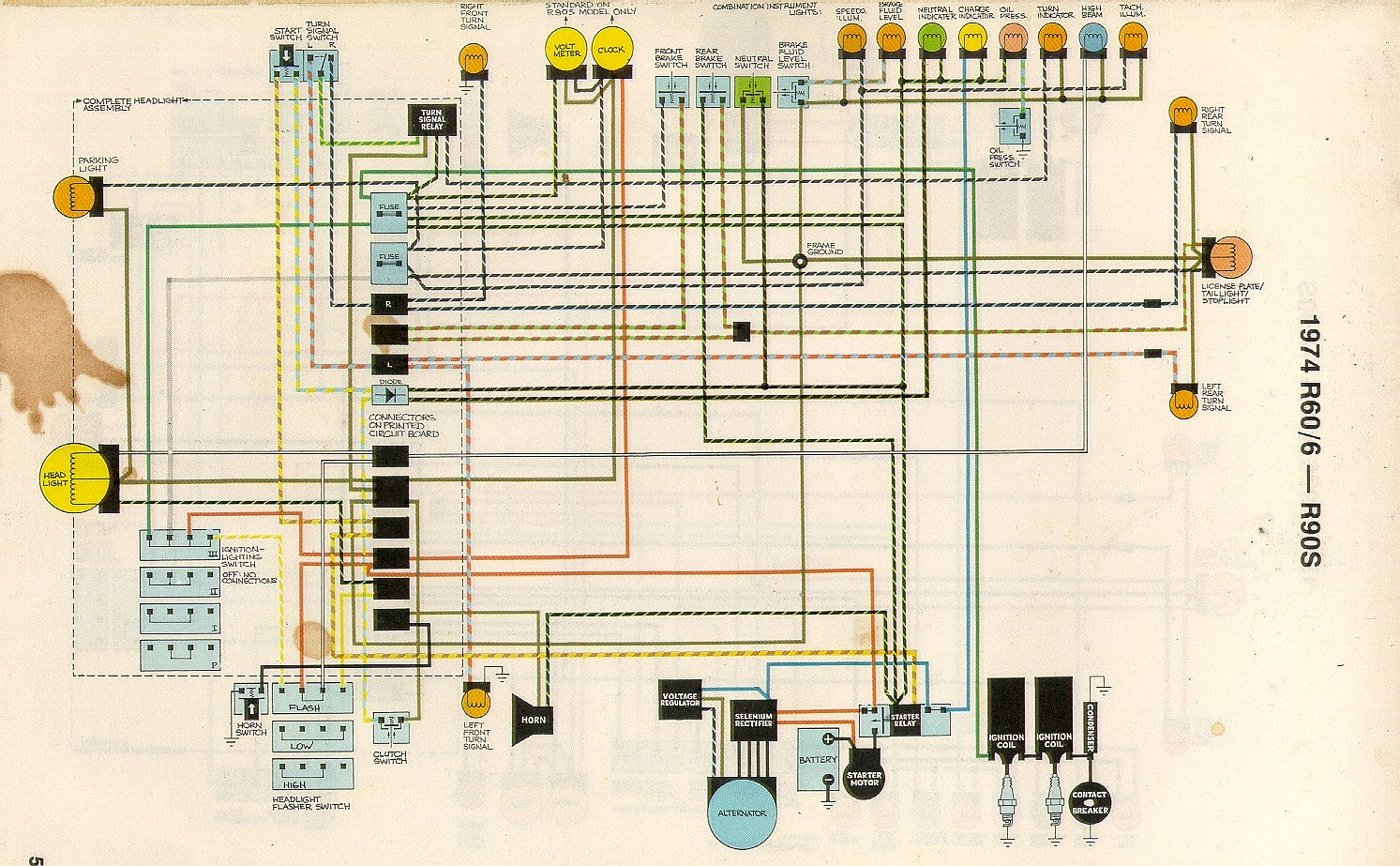 Wiring Diagram Bmw R90s