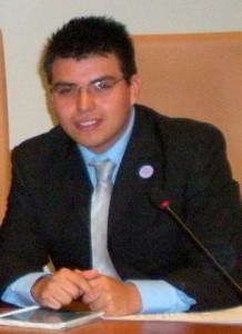 Der mexikanische Erasmusstudent Rogelio Balcázar