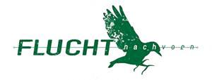 Logo der Flucht nach vorn (mit einem Vogel)