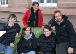 Das AStA Team vor Ort