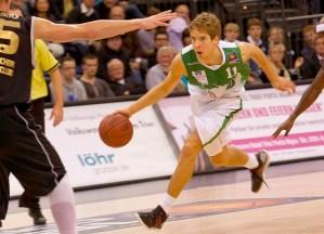 Oskar Faßler von den Trierer Basketballern. Foto: Thewalt (Archiv) - 5VIER