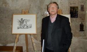 Gottfried Heinz präsentiert seine Kunstwerke  - 5VIER