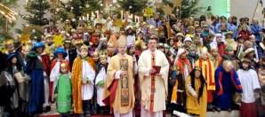 Weihbischof Brahm eröffnet Sternsingeraktion am 30. Dezember in Wiesbach, Foto: Bistum Trier - 5VIER