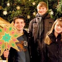 Rouven Kockler, Daniel Schwarz-Gassner, Laura Merten und Anna Müller (vlnr.), Foto: Bistum Trier - 5VIER