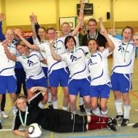 Frauen-Rheinlandmeisterschaft Sieger TuS Issel - 5VIER