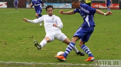 20110403 SchalkeII - SVE, Regionalliga West. Cozza. Foto: Anna Lena Bauer - 5VIER