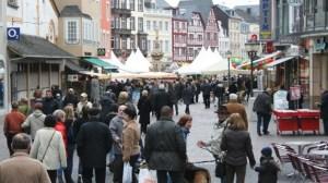 Freizeit: 8. Trierer Ostermarkt  auf dem Hauptmarkt in Trier