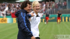 20110730 Eintracht Trier - St. Pauli, Purket, Bibiana Steinhaus, DFB Pokal, Foto: Anna Lena Bauer - 5VIER