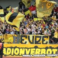 20110826 Dortmund II - Eintracht Trier, Dortmund-Fans, Regionalliga West, Foto: Anna Lena Bauer - 5VIER