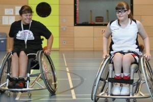 Rollstuhlbasketball RSC Rollis Trier Anna Nickels