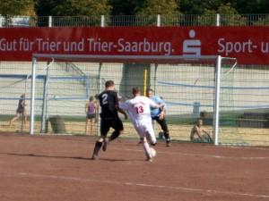 Polizei SV Trier gegen Spvgg. Trier