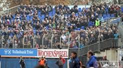 20111029 Eintracht Trier - RW Essen, Zusatztribüne, Regionalliga West, Foto: Anna Lena Grasmueck - 5VIER