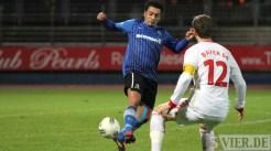 Eintracht Trier gegen Leverkusen II, Regionalliga West, Kulabas, Foto: Anna Lena Grasmück - 5VIER