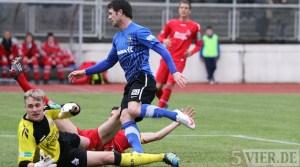 20120310 Eintracht Trier - KoelnII, Regionalliga West, Tor Pollok, Foto: Anna Lena Grasmueck - 5VIER