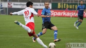 20120404 Eintracht Trier - Fortuna Koeln, FAZ, Kuduzovic, Regionalliga West, Foto: Anna Lena Grasmueck - 5VIER