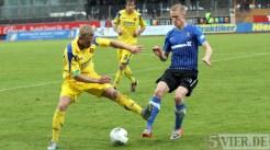 20120425 Pokal Eintracht Trier-TuS Koblenz, Kraus, Bitburger Rheinlandpokal, Viertelfinale, Foto: Anna Lena Grasmueck - 5VIER