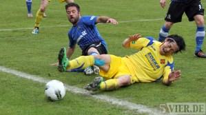 20120425 Pokal Eintracht Trier-TuS Koblenz, Drescher, Bitburger Rheinlandpokal, Viertelfinale, Foto: Anna Lena Grasmueck - 5VIER