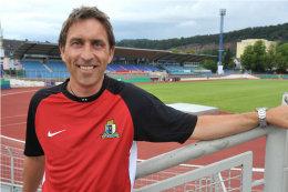 Michael Ziegler, Eintracht Trier.  Quelle: SVE - 5VIER