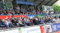 20120511 Eintracht Trier - Lotte, Regionalliga West, Zuschauer, Tribüne, Foto: Anna Lena Grasmueck - 5VIER