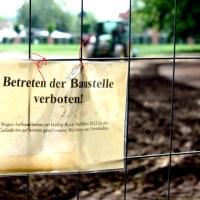 Palastgarten Baustelle - 5VIER