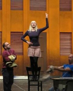 Kristina Stanek als Evita