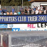 Eintracht Trier - Eintracht Frankfurt II, Fans Supporters, Regionalliga Suedwest, Foto: Anna Lena Grasmueck - 5VIER