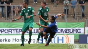 20120814 FC Homburg - Eintracht Trier, Regionalliga Suedwest, Pagenburg, Foto: Anna Lena Grasmueck - 5VIER